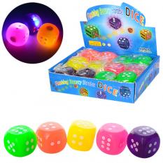 М'яч дитячий MS 1153-2 кубик, в дисплеї
