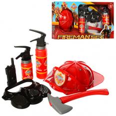 Набір пожежника XY 807 в коробці