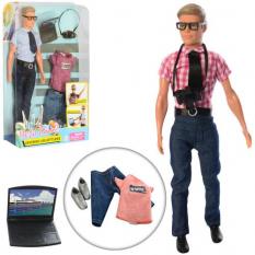 Лялька з нарядом DEFA 8385 Кен, в слюді