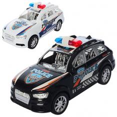Машинка XH 375-75 A поліція, інерційна, в кульку