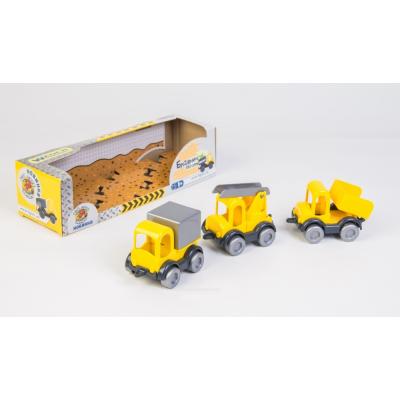 """Авто 39270 (20шт) """"Тигрес"""", """"Kid cars"""", """"Будівнічок"""", 3 шт, в коробці"""