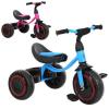 Велосипед M 3649-M-2 TURBOTRIKE, три колеса, малина, блакитний