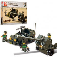 Конструктор SLUBAN M 38 B 5900 армія, в коробці