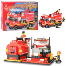 Конструктор SLUBAN 620030 / M 38 B 0220 Пожежні рятувальники, в коробці