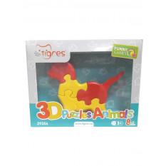 "Развивающая игрушка 39356 ""Тигрес"", 3D пазлы Зверушки, 8 эл."
