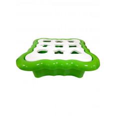 """Розвиваюча іграшка 39521 """"Тигрес"""", сортер """"Розумні фігурки"""" 10 ел. (Світло зелений)"""