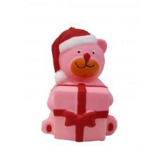 Іграшка 11-3 Мишка з подарунком, в кульку