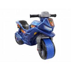 Мотоцикл 501-501 Б-7 (1шт) для прогулянок, 2-х колесний (сігнал, накладка), Оріон