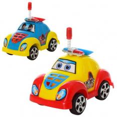 Машинка 2210 інерційна, поліція, в кульку