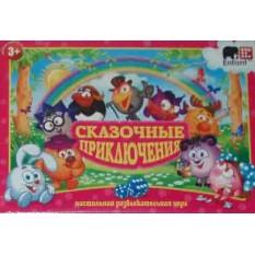 """Гра настільна """"Данко-тойс"""" 29616 """"Смешарики"""", мала"""