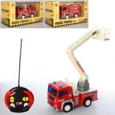 Пожежна машина WY 1550 ABC р/у, на батарейках, в коробці