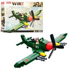 Конструктор SLUBAN M 38 B 0683 Військовий літак, в коробці