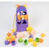 """Розвиваюча іграшка 39520 """"Тигрес"""", сортер """"Розумні фігурки"""" 10 ел. (Фіолетовий)"""