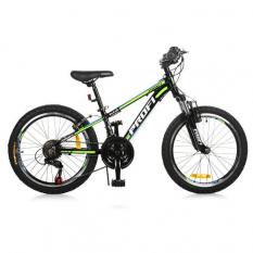 Велосипед 20 Д. G20A315-L-1B PROFI, чорно-салатовий
