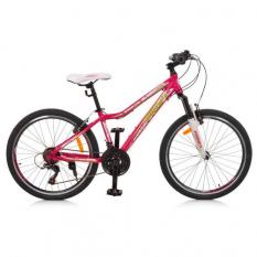 Велосипед 24 д. G24CARE A24.1 рожевий