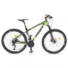 Велосипед 27,5д. EB275STUBBORN CB275.3 PROFI, чорно-зелений