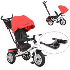 Велосипед M 3646 A-3 (1шт/ящ) TURBOTRIKE, темно-червоний