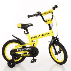Велосипед дитячий PROF1 16д. L 16111 (1 шт/ящ) Driver, жовтий, додаткові колеса