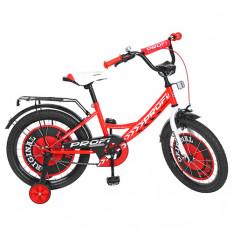 Велосипед дитячий PROF1 18д. Y 1845 (1 шт/ящ) Original boy, червоний, дзвінок, додаткові колеса
