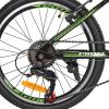 Велосипед 20 д. G20FIFA A20.2 (1шт/ящ) PROF1, Чорно-зелений
