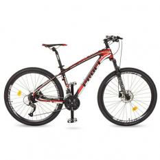 Велосипед 27,5д. EB275STUBBORN CB275.1 (1шт / ящ) PROF1, Чорно-червоний