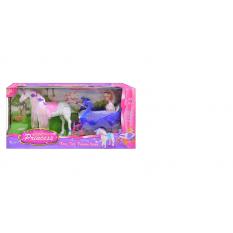 Карета 38386 лялька, конячка, в кор-ке
