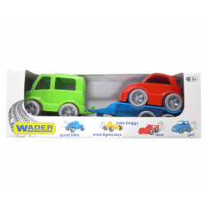 "Набір авто 39541 ""Kid cars Sport"", 3 ел., Автобус + гольф, ""Тигрес"""
