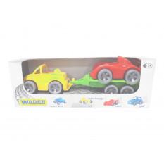 """Набір авто 39542 """"Kid cars Sport"""", 3 ел., Кабріолет + гонка, """"Тигрес"""""""