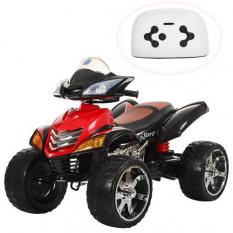 Квадроцикл M 3101 (MP3) EBLR-2 (1шт/ящ) BAMBI, червоно-чорний