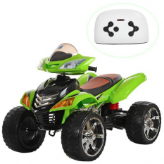 Квадроцикл M 3101 (MP3) EBLR-5 (1шт/ящ) BAMBI, Зелений