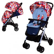 Коляска дитяча AMORE M 3405-12-2 (1шт/ящ) EL CAMINO, кольорова-блакитна