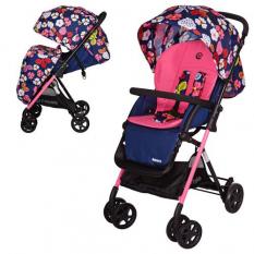 Коляска дитяча AMORE M 3405-8-2 (1шт/ящ) синьо-рожевий