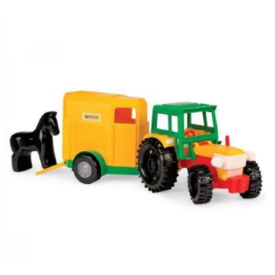 """Трактор 39009 з причепом, """"Тигрес"""", в коробці"""