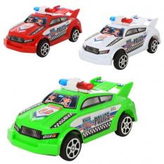 Машинка 66911 інерційна, поліція, в кульку