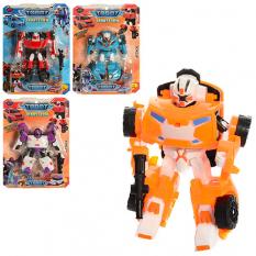 Трансформер 5811-13 TBT, робот + машинка, на аркуші