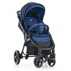 Коляска дитяча ME 1 022 L EXPERT Denim (1 шт/ящ) прогулянкова, синя