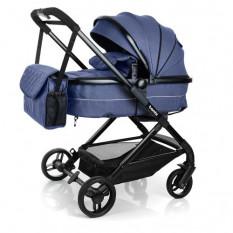 Коляска дитяча M 3895-4 (1 шт/ящ) BAMBI, універсал, синій