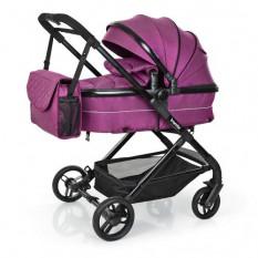 Коляска дитяча M 3895-9 (1 шт/ящ) універсал, фіолетова