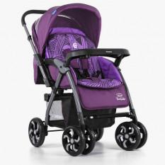 Коляска дитяча ME 1007-9 TORNADO (1 шт/ящ) прогулянкова, фіолетова