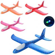 Літак Y 8551-49 пінопласт, в кульку