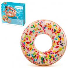 Круг 56263 (12шт/ящ) INTEX, Пончик, в коробці