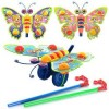 Каталка 305 на палиці, метелик - брязкальце