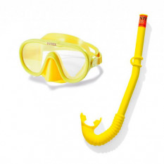 Набір для плавання 55642 (6 шт) INTEX, трубка, маска, від 8 років