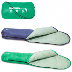 Спальний мішок 68054 (12 шт) Bestway, застібка-блискавка, в сумці