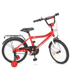 Велосипед дитячий PROF1 18д. Y 18105 (1шт/ящ) Top Grade, червоний