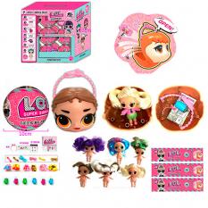 Лялька 33314 LOL, в кулі (голова)