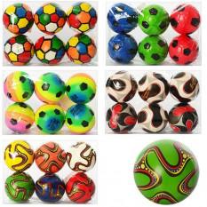 М'яч дитячий фомовый MS 0261 4 дюйми,(6шт) в кульку