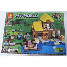 Конструктор ZB 9913 Minecraft