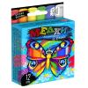 """Крейда для малювання на асфальті MEL-02-03 """"Danko-toys"""", 12 кольорів, маленьквеликі"""