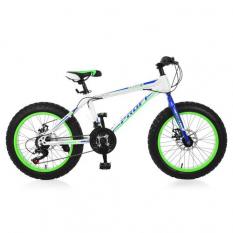 Велосипед 20 Д. EB 20 POWER 1.0 S 20.3 (1шт / ящ) PROFI, Білий